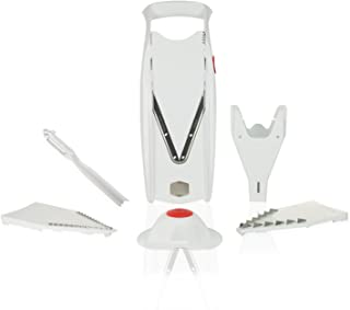 Borner Mandolina V5 PowerLine Plus Set - Sin BPA (blanco)