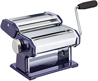 Kitchencraft World of Flavours maquina de pasta electrica de acero inoxidable – azul