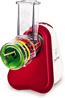 Moulinex Fresh Express Plus - Rallador- 5 funciones- 150 W- 1 L- 1 dB- metal- rojo-blanco